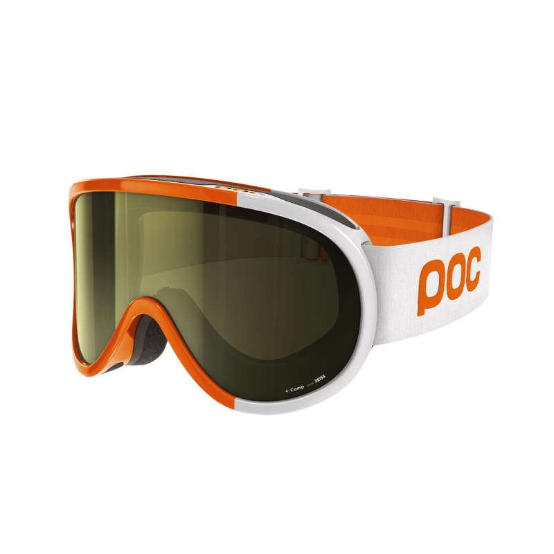 Masque de ski POC RETINA COMP Orange Blanc