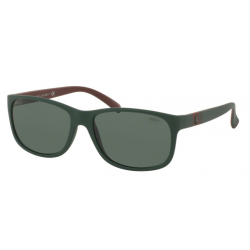 Lunettes de Soleil Polo Ralph Lauren PH4109 559671 Matte Polo Green
