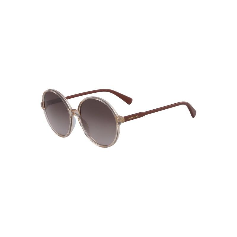 Lunettes de soleil L0607S Longchamp ronde pour femme.