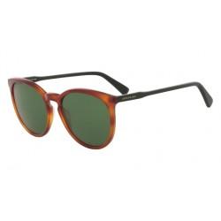 Lunettes de soleil Lonchamps LO606S Blonde Havana/Green (004)