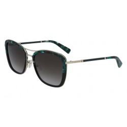 Longchamp LO639SL Black/Green Stone (004)